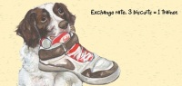 Exchange Rate Springer Spaniel Card