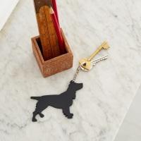 Spaniel Key Ring