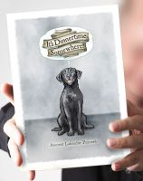 It's Dinnertime Somewhere- Black Labrador Card