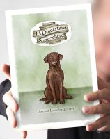 It's Dinnertime Somewhere- Chocolate Labrador Card