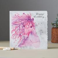Happy Birthday Wild Mane Card