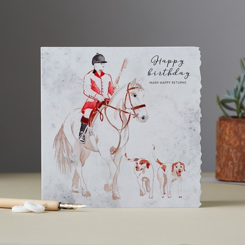Huntsman and Hounds Card