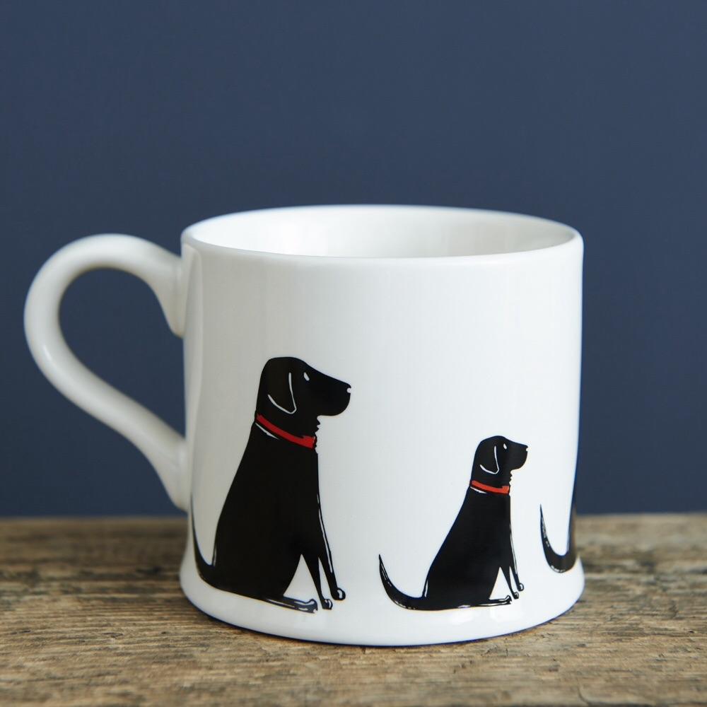 Black Labrador Mug.