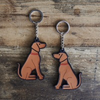 Vizsla Key Ring
