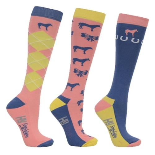 Pack of Three Newmarket Riding Socks