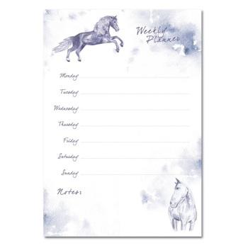 Horses Weekly Planner