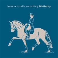 Smashing Birthday Dressage Card