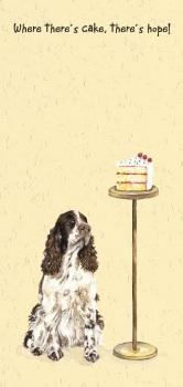 Cake Spaniel Card