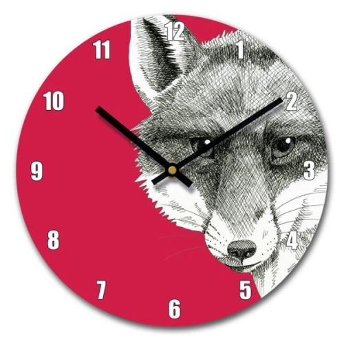 Fox Clock