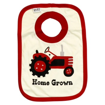 Homegrown Baby Bib
