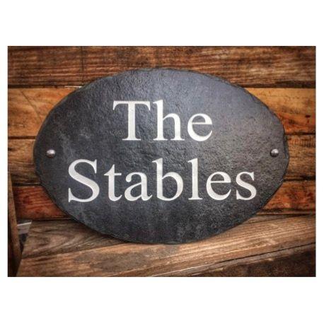 Slate Property Signs
