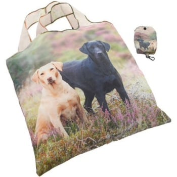 Labs on the Moor Shopper Fold Away Bag