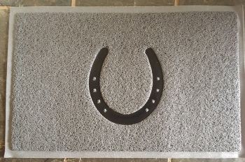 Horseshoe Door Mat