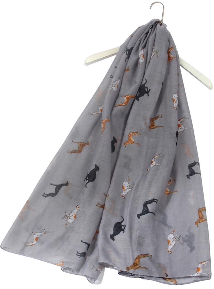 Sighthound Stone Grey Scarf