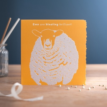 Ewe are Bleating Brilliant Card