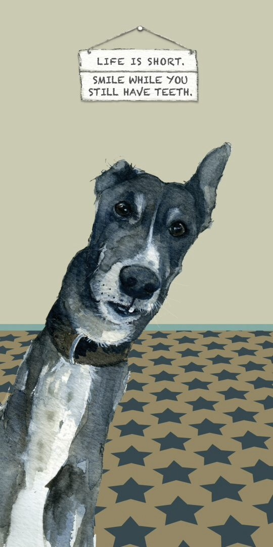Smile Sighthound Card
