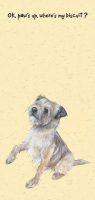Paws Up Border Terrier Card