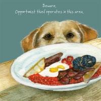 Opportunist Labrador Card