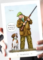 Get One from Tesco Liver & White Springer Spaniel Card