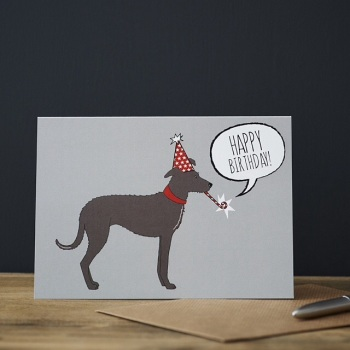 Sighthound Birthday Card