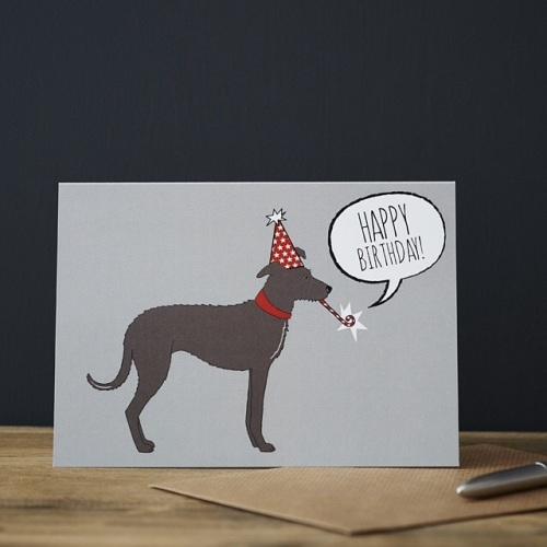 Sighthound Birthday Card