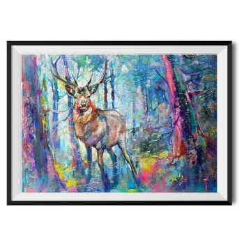 Majestic Stag Print