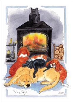 Firedogs Card