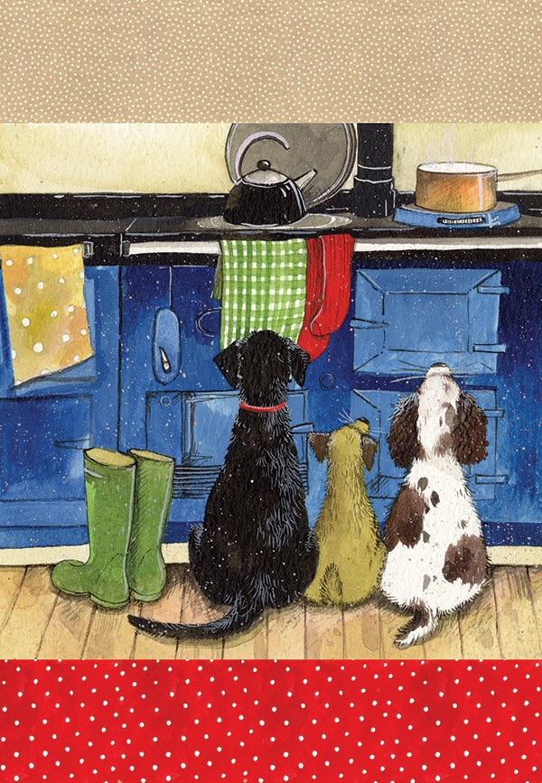 Delightful Dogs Tea Towel