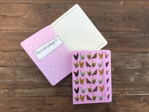Chickens Chunky Notebook