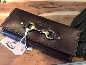 Lily Purse in Brown Natural Leather