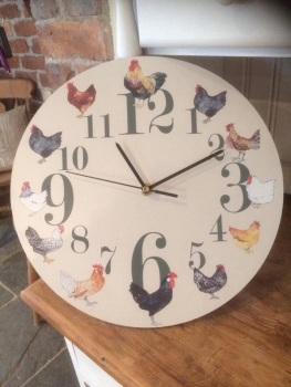 Chickens Clock