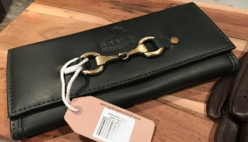 Lily Purse in Racing Green Leather