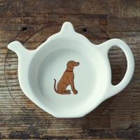 Gift Boxed Vizsla Teabag Dish
