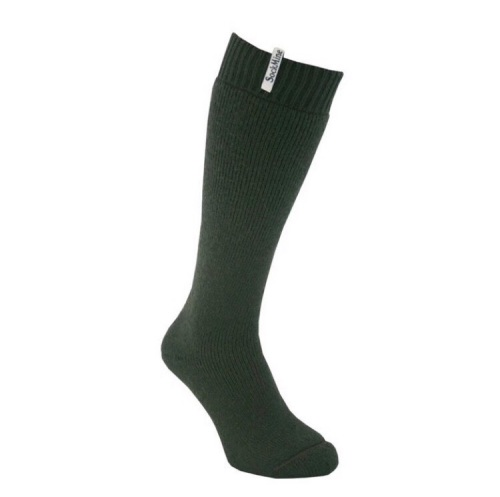 Sock Mine Moss Moss Green Welly Socks- Size 8-9