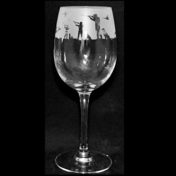 Shooting Scene Wine Glass