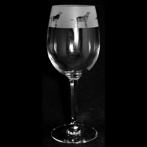 Labrador Wine Glass