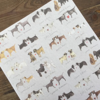 Delightful Dogs Large Soft Notebook