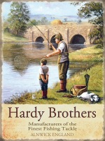 Hardy Brothers Fishing Metal Sign