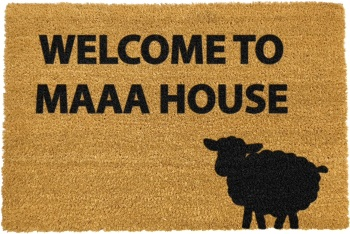 Welcome to Maa House Sheep Doormat