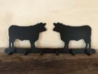 Bull 6 Hook Key Rack