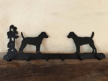 Terrier 6 Hook Key Rack