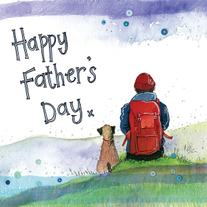 Walker Dad Father's Day Card