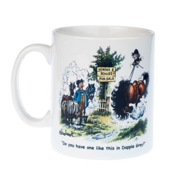 Thelwell Dapple Grey Mug