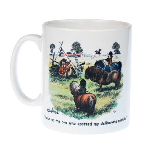 Thelwell Deliberate Mistake Mug
