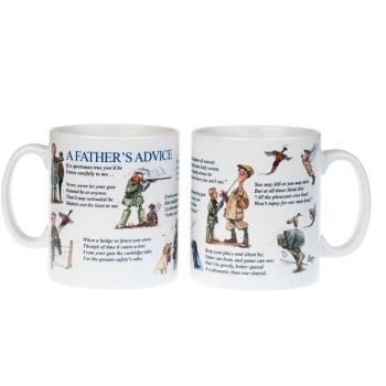 A Father's advice Shooting Mug