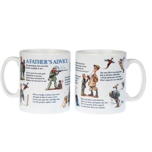 A Father's advice Shooting Mug