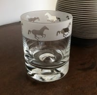 Horses Whisky Tumbler