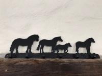 Ponies 6 Hook Key Rack