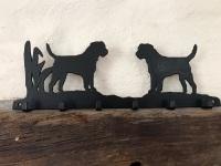 Border Terrier 6 Hook Key Rack