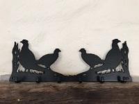 Pheasant 6 Hook Key Rack
